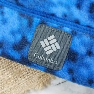 Columbia Accessories - Columbia Blue Black Fleece Winter Hat Youth Small